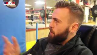 BEN CAPPS: WATCHES BACK HIS FIGHT WITH JOE MULLENDER