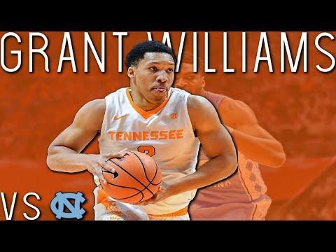 Grant Williams Highlights vs North Carolina | HD