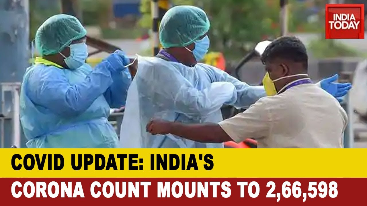 Covid Update Live India S Covid 19 Count Tops 2 6 Lac With Death Toll At 7 471 Youtube