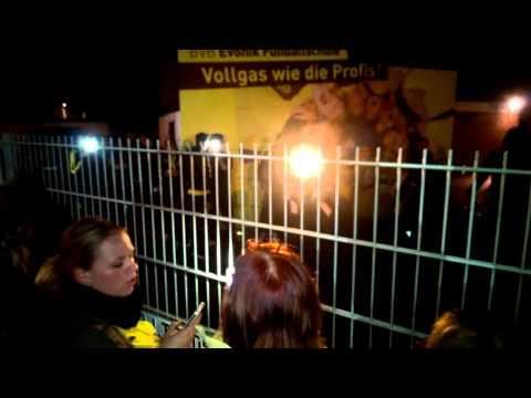 BVB Derbysieg Ankunft in Dortmund!