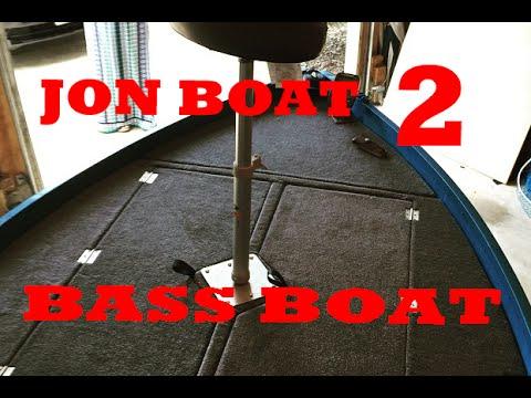Jon Boat to Bass Boat Part 3 (Final!)