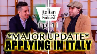 *MAJOR UPDATE* Applying for Italian citizenship by descent in Italy - Work In Italy
