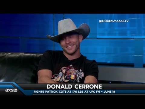 Donald Cerrone Talks Conor McGregor and Move to Welterweight on Inside MMA