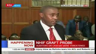 NHIF bosses appears in court, both charged with obstruction of justice