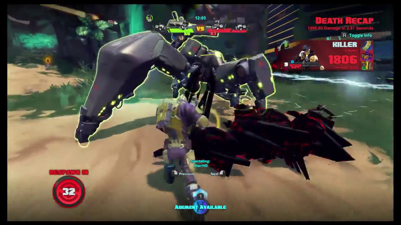 Battleborn Incursion Match (Marquis P.o.V.)