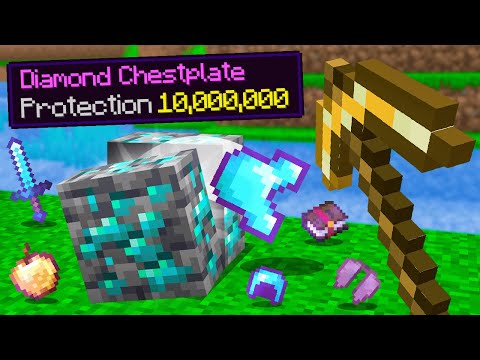 ORES Drop LEVEL 10,000,000 LOOT in Minecraft