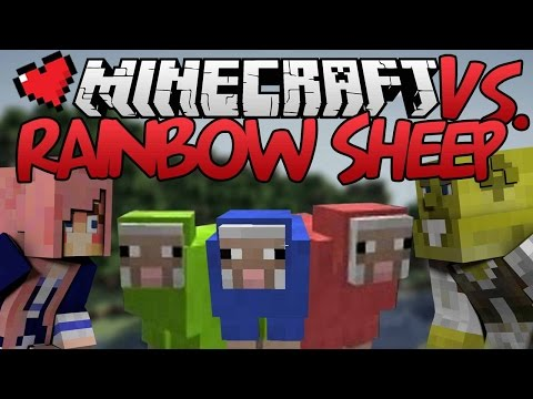 Rainbow Sheep | Minecraft VS. Ep 5