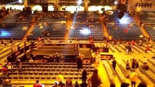 Arriving at NXT Live San Jose State University