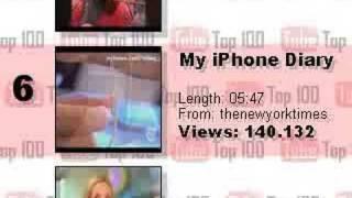 YouTube Top 10 - June 28, 2007