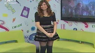 Tuğçe Çetinkaya Beautiful Turkish Tv Presenter 20.03.2013
