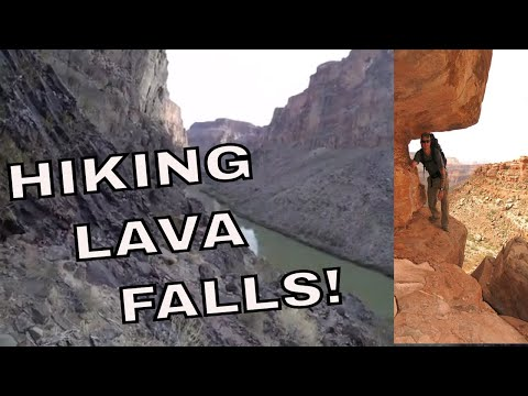 Hiking Lava Falls, Grand Canyon National Park, Arizona