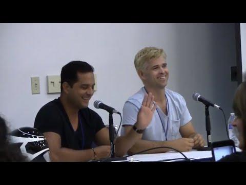Roger Velasco Justin Nimmo Florida Supercon 2017 Panel