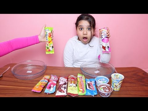 تحدي لا تختار ايسكريم السلايم الخاطئ !! Don't Choose the Wrong Ice Cream Slime Challenge