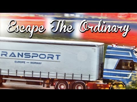 Escape The Ordinary - The Adventure Of Trucking - William De Zeeuw