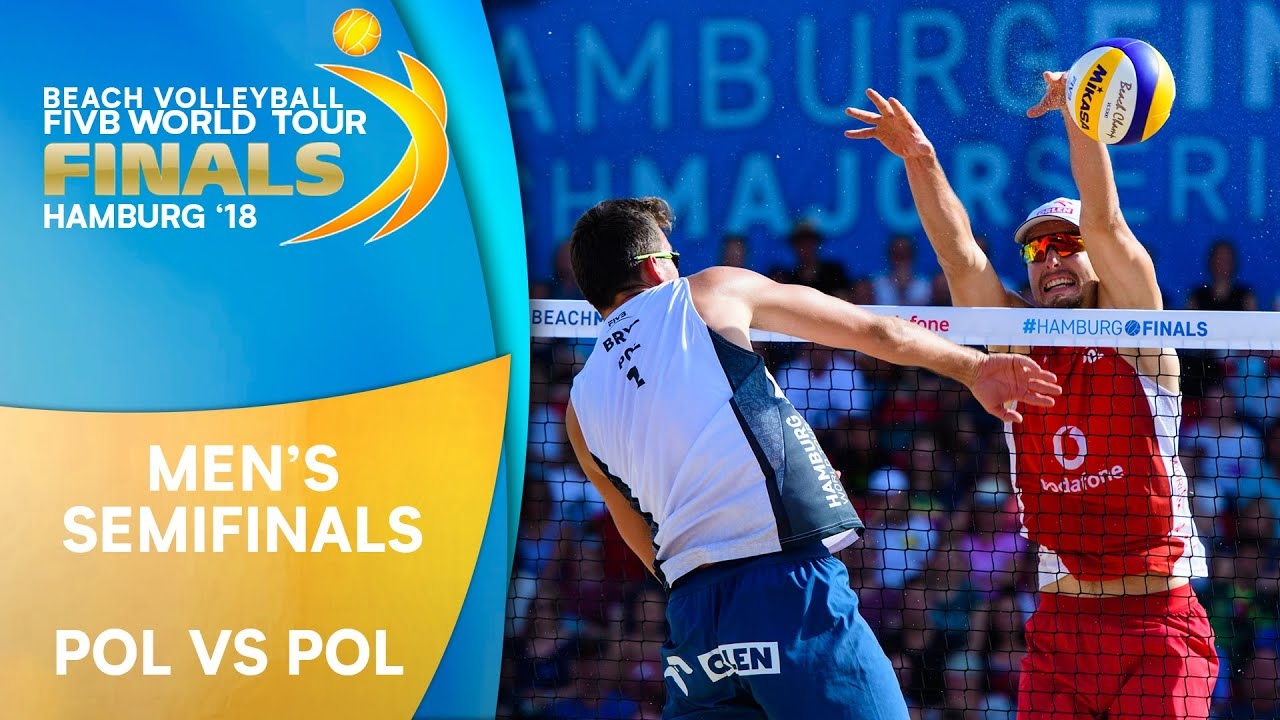 Men's Semifinal: POL vs. POL | Beach Volleyball World Tour Finals Hamburg 2018