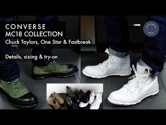 Converse MC18: Chuck Taylor High Tops