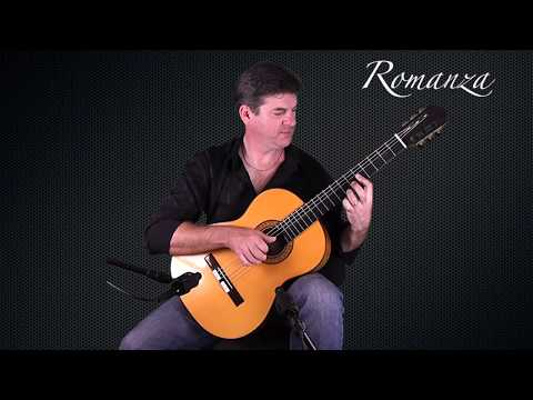 ROMANZA played with feeling on Spanish Classical Guitar by Al Marconi.
