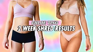 Chloe Ting 2 Week Shred Challenge Results (ABS in 2 WEEKS?)