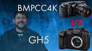 Blackmagic Pocket Cinema Camera 4k vs Panasonic GH5