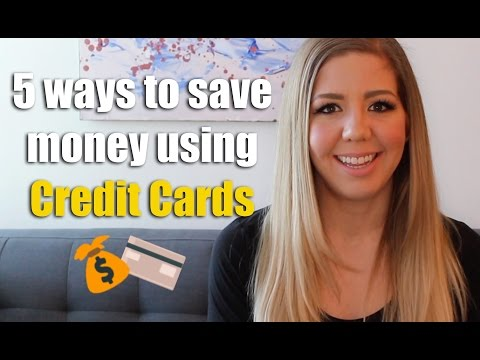 5 Ways to Save Money Using Credit Cards