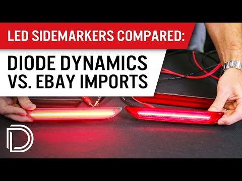 LED Sidemarkers Compared: Diode Dynamics Vs EBay Imports
