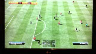 FIFA 12 Arabic Commentary (Barça vs Real)