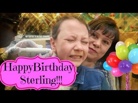Sterling's Birthday special!! ~ Feb 9 2017 (Longer vlog)