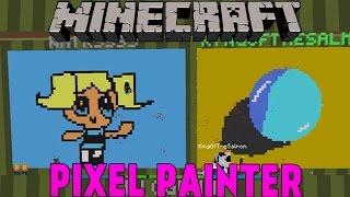Minecraft | Team Hobbit | Pixel Painters Minigame på Svenska med figgehn, Whippit & SoftisFFS