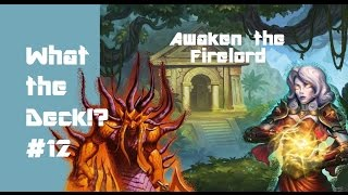What the Deck!? ep12 Awaken the Firelord: Majordomo Quest Priest