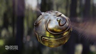 REYES Digital | La Snitch Dorada (The Golden Snitch)