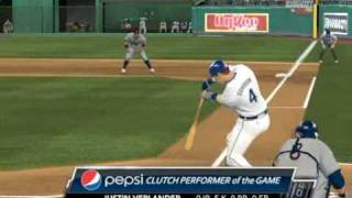 MLB 2K9 PC Gameplay DET@KC Justin Verlander --- Player Of The Game