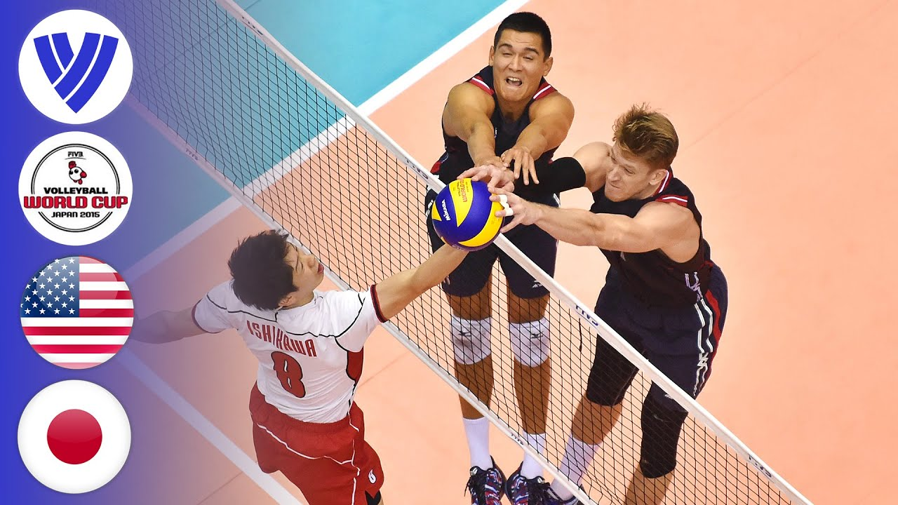 USA vs. Japan | Men's Volleyball World Cup 2015