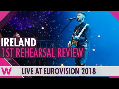 Ireland First Rehearsal: Ryan O'Shaughnessy