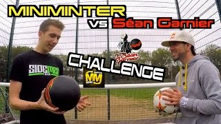 Séan Garnier vs Miniminter INSANE Freestyle and crossbar Challenge