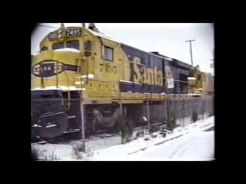 CN & CP Trains in Quebec , 1980's / Volume 4