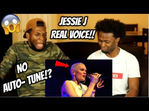 Jessie J | REAL VOICE (WITHOUT AUTO-TUNE) INSANE!!! (REACTION)