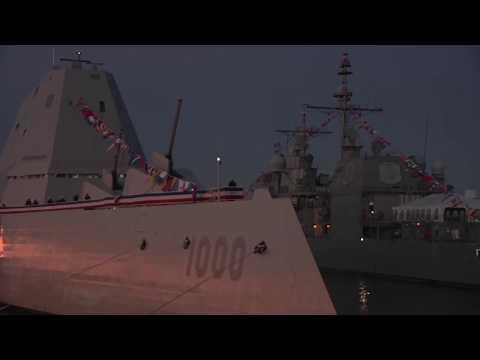 """""""Стелс"""" авианосец """"Кузнецов"""" Vs стелс эсминец USS """"Zumwalt"""" или США довооружают свои корабли"""