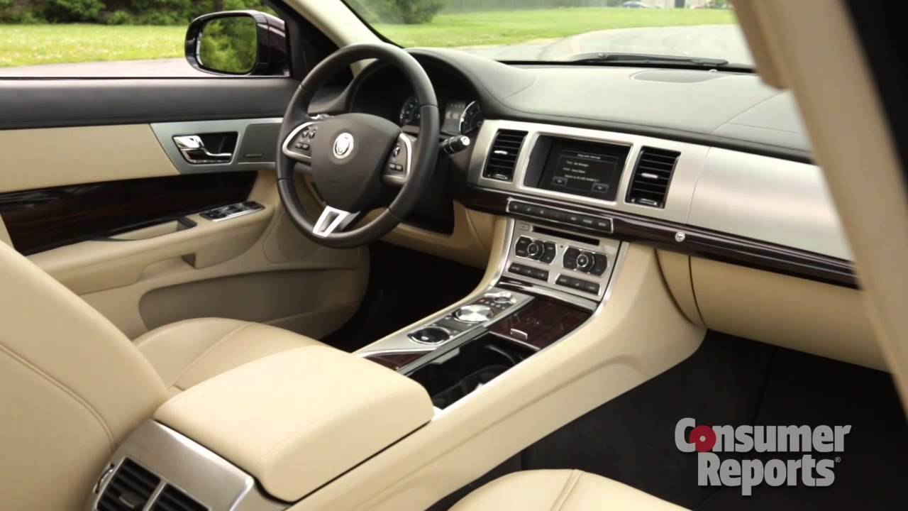 2013 Jaguar XF Quick Take | Consumer Reports   YouTube