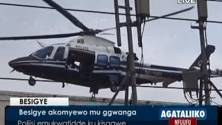 Besigye akomyewo mu ggwanga thumbnail