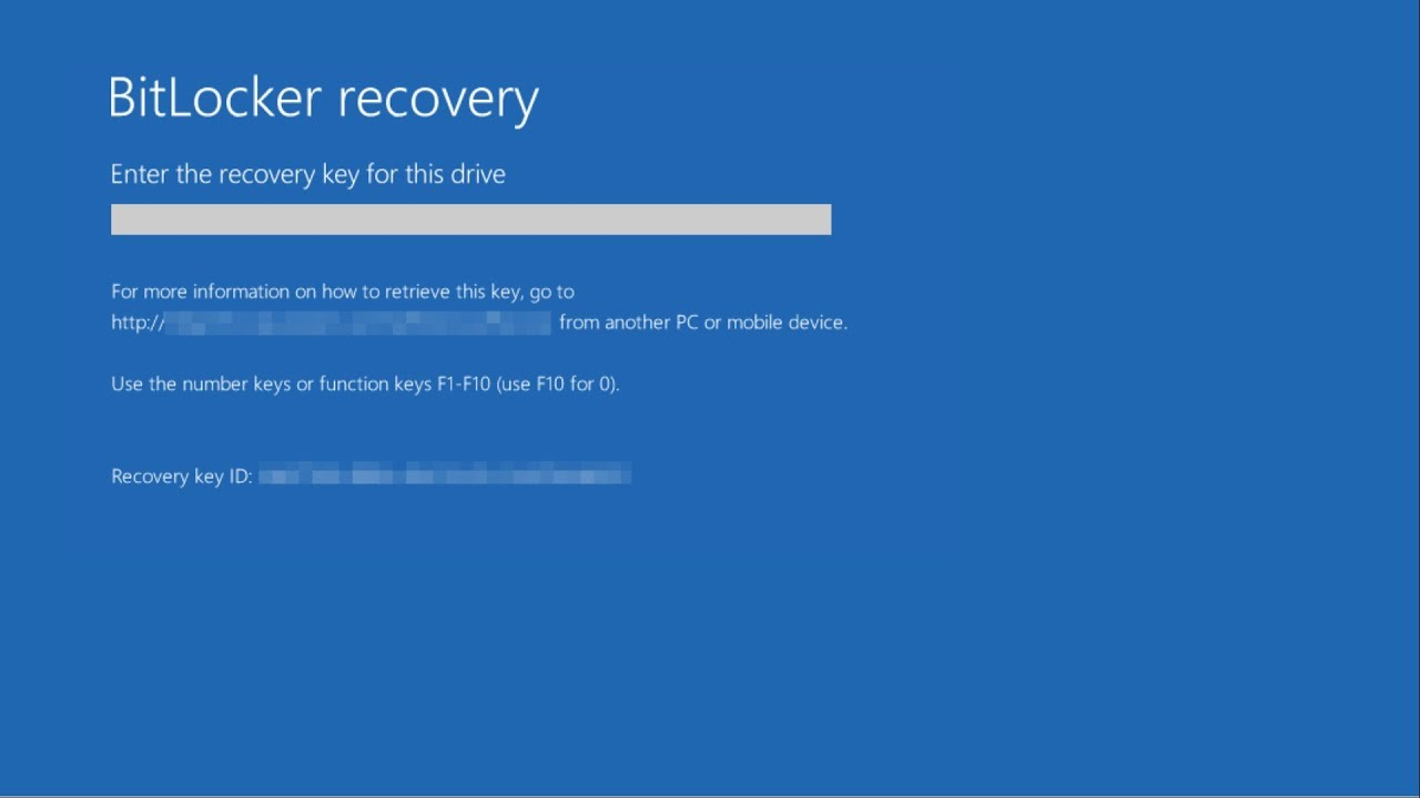 Finding a lost Bitlocker Recovery Key (Superseded)