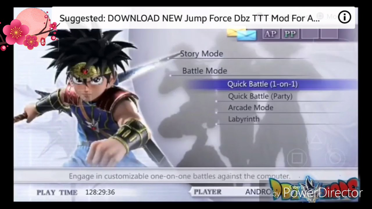 download jump force for android ppsspp