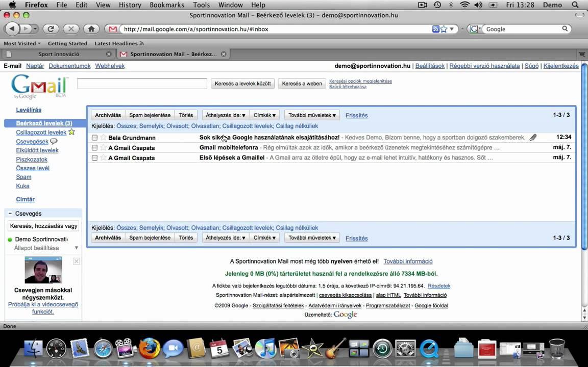 képek küldése e mailben 2 Email küldés, fogadás   YouTube képek küldése e mailben