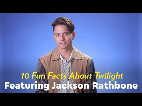 Jackson Rathbone Revealed 10 Fun Facts About Twilight, and It'll Make You Feel Like It's 2008 All Over Again