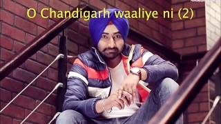3 lakh karoke track with lyrics | Ranjit Bawa|