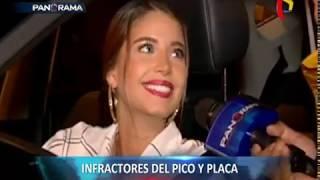 Sin freno: infractores del Pico y Placa hacen de las suyas