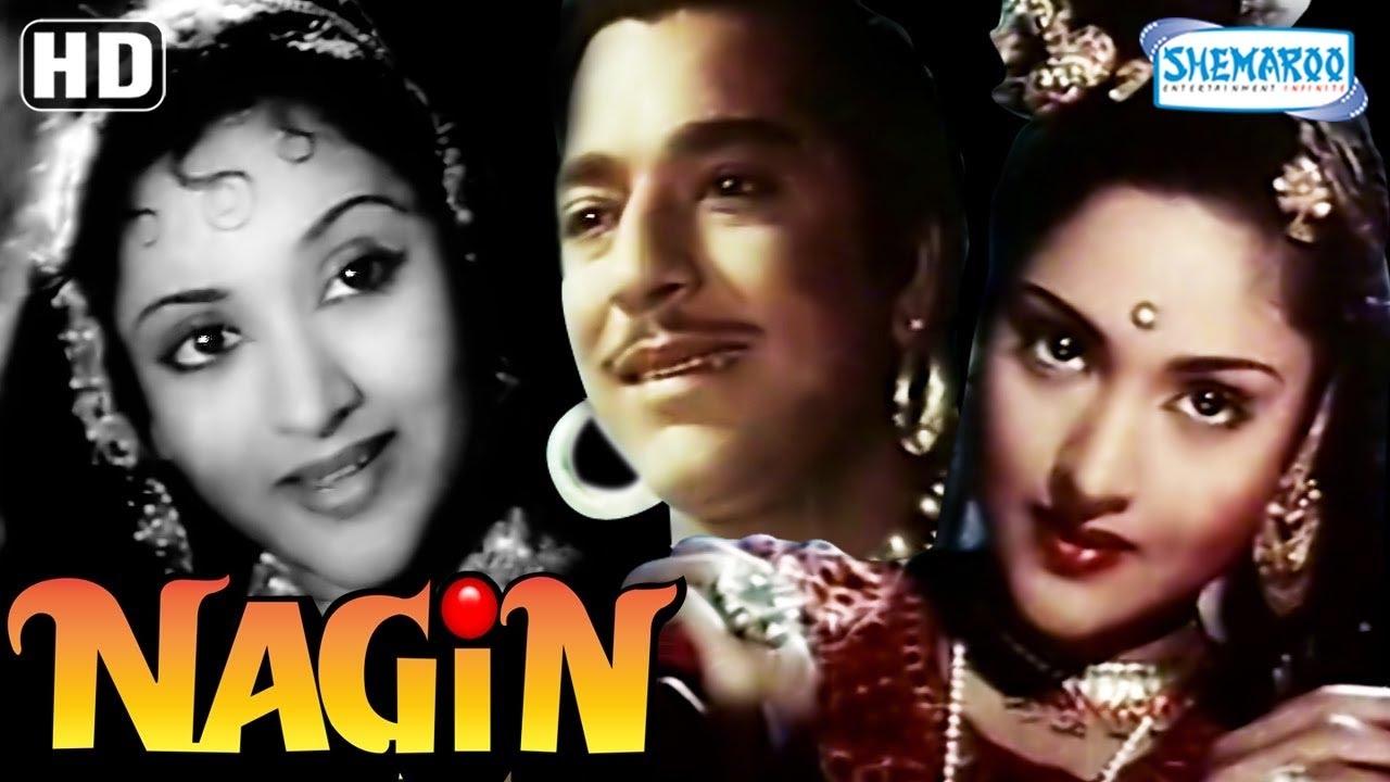 Nagin Hd With Eng Subtitles Vyjayanthimala Pradeep Kumar Jeevan Mubarak