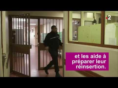 Darius Meri est surveillant pénitentiaire à la Maison d'arrêt de Villepinte