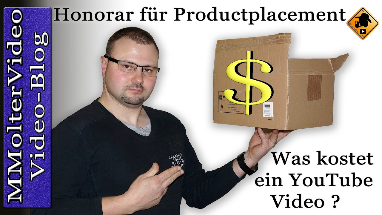 honorar f r productplacement was kostet ein video mmoltervideo youtube. Black Bedroom Furniture Sets. Home Design Ideas