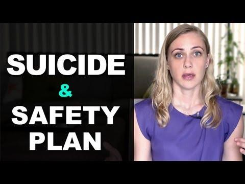 Suicide & A Safety Plan - Mental Heath Videos with Kati Morton