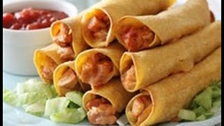 Cooking 101:chicken Taquitos